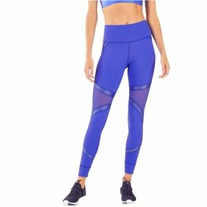PowerHold by Fabletics blue tight leggings Small